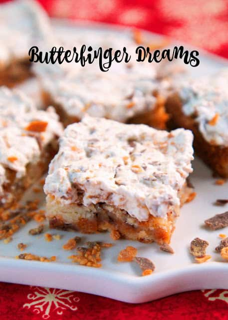 butterfinger cookies on a try