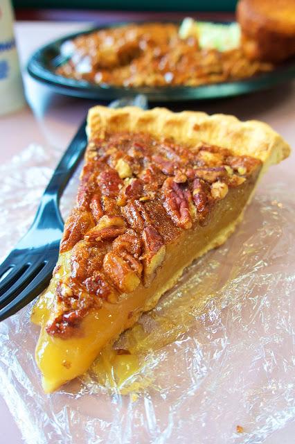 Pecan Pie from Byron's Smokehouse in Auburn, Alabama