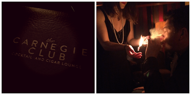 The Carnegie Club Cocktail & Cigar Lounge - West 56th Street NYC