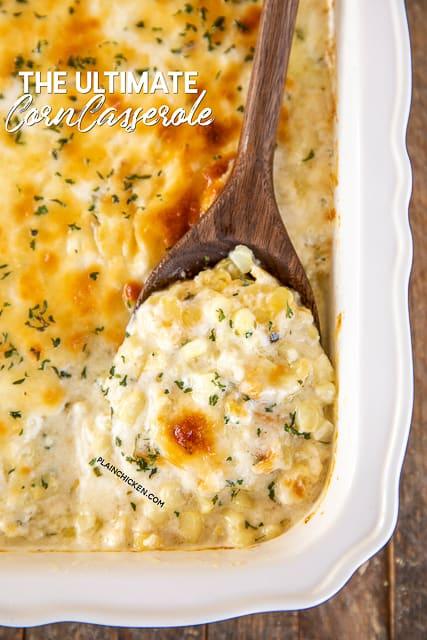 the ultimate corn casserole