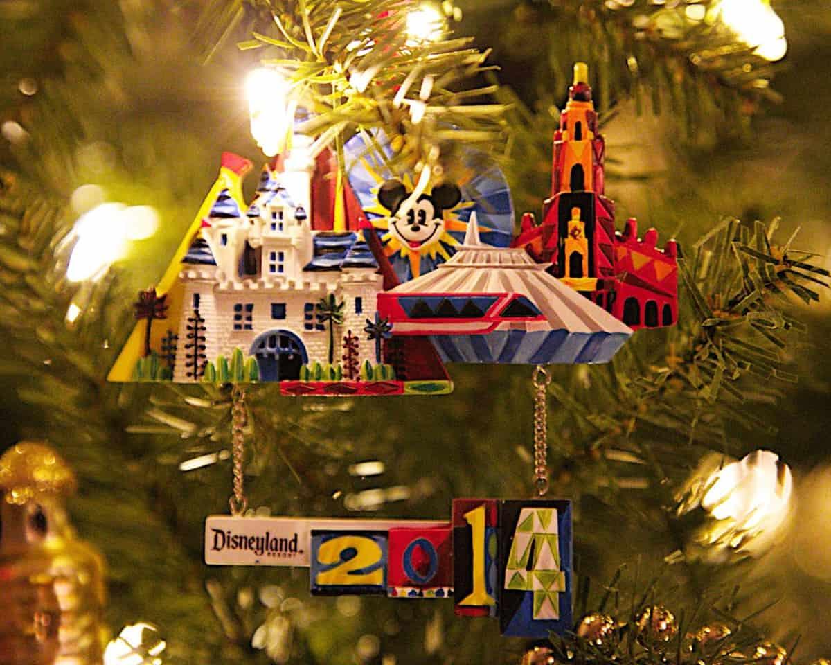 Disneyland Ornament