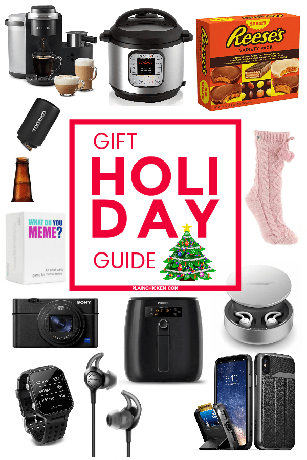 Holiday Gift Guide - something for him, her and you! Check this list out if you have someone that is hard to shop for at the holidays! #christmas #shopping #christmasgift