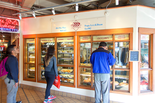 Three Girls Bakery in Pike Place Market - Seattle, WA - these were the best cookies I've ever eaten!