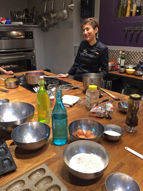 French dessert cooking class in Paris