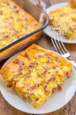 cracked out breakfast casserole