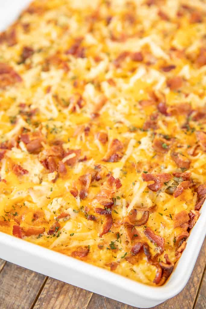 cracked out hash brown breakfast casserole