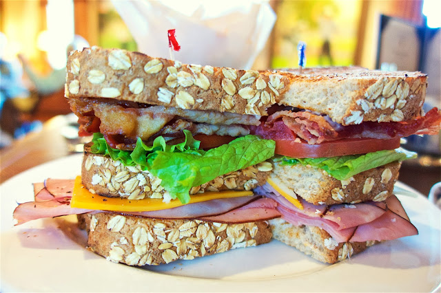 Club Sandwich at Nineteen at TPC Sawgrass in Ponte Vedra, FL