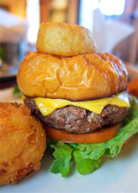 The Burger and Hushpuppies at Nineteen at TPC Sawgrass in Ponte Vedra, FL