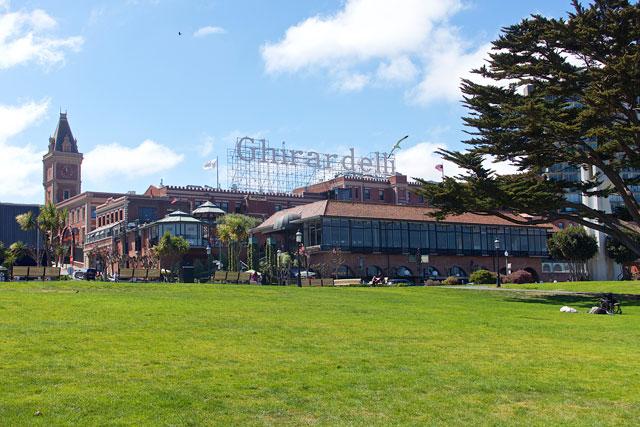 The Original Ghirardelli Chocolate Company in San Francisco