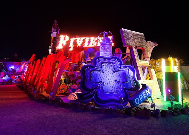 Neon Museum in Las Vegas - must do the night tour!