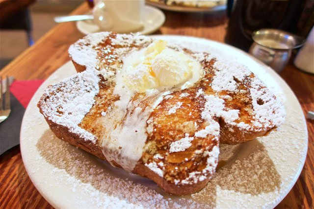 French Toast at the Griddle Cafe in Hollywood, CA - the BEST I've ever eaten!