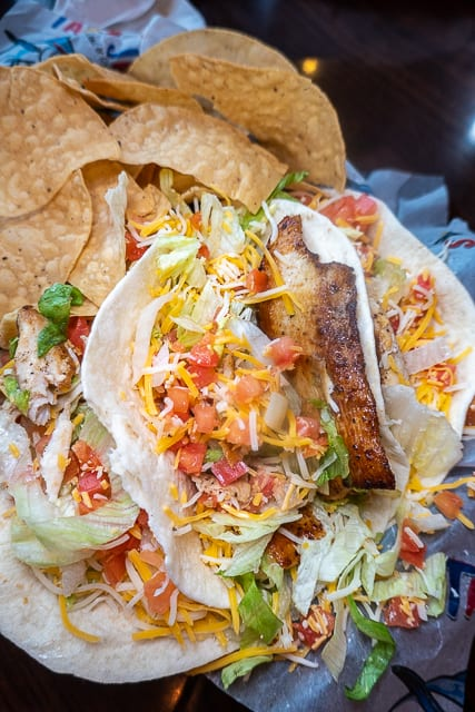 Blackened Grouper Tacos from Tacky Jack's - Gulf Shores/Orange Beach, AL