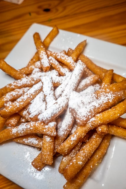 Beignet Fries from FloraBama Yacht Club