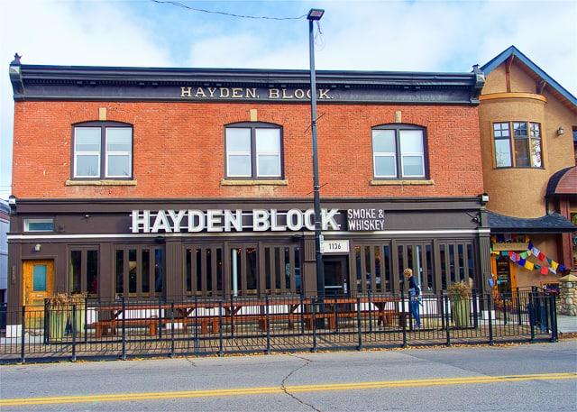 Hayden Block Smoke & Whiskey - Calgary, AB Canada