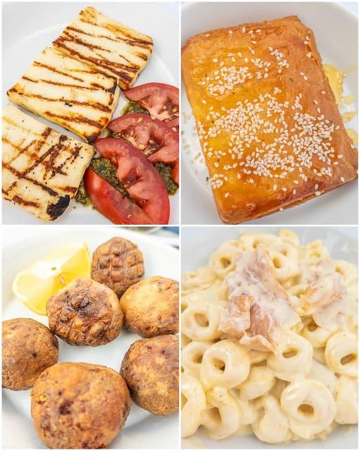 Greek Lunch - Hydra Greece