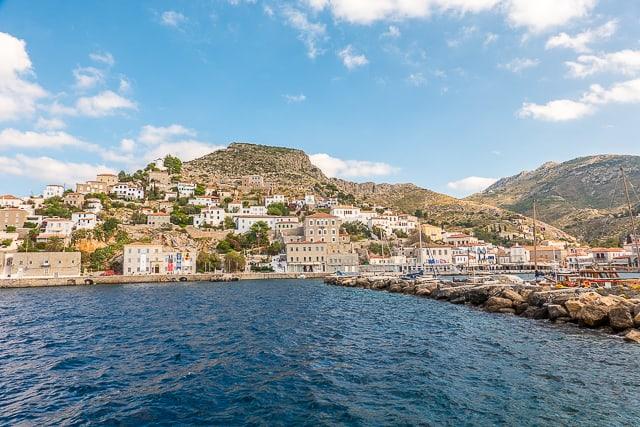 Port of Hydra Greece