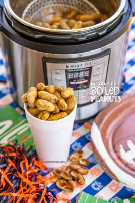 cup of boiled peanuts
