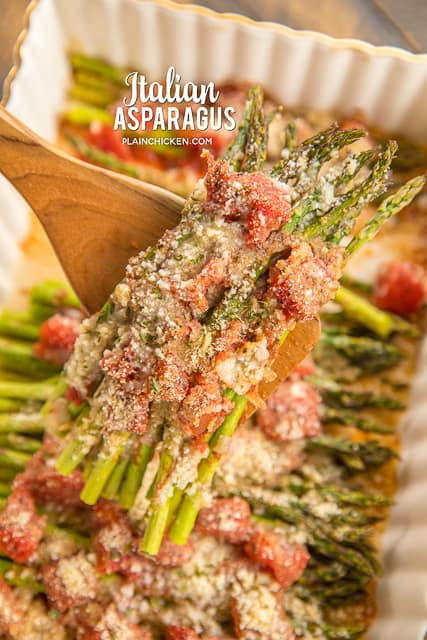 spoonful of asparagus