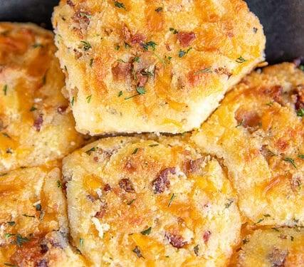Crack Keto Biscuits - Plain Chicken