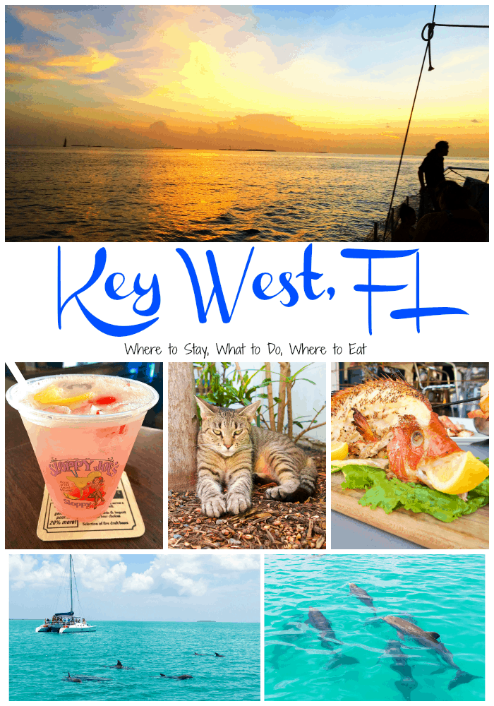 Key West, FL - Where to stay, what to do and where to eat while visiting the Florida Keys!