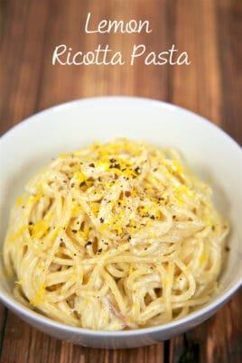 bowl of pasta