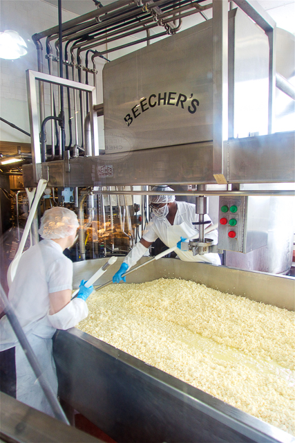 Beecher's Handmade Cheese in Pike Place Market - Seattle, WA - home of the World's Best Mac and Cheese!