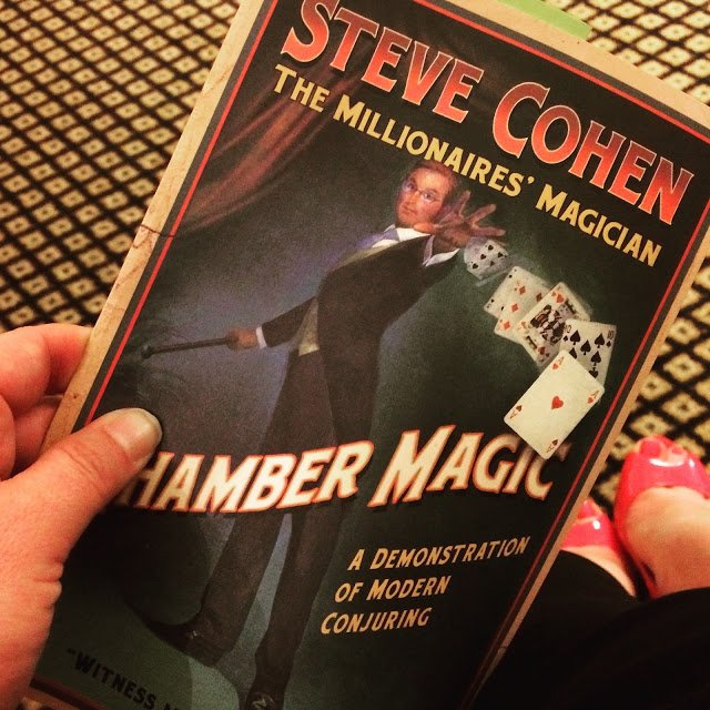 Steve Cohen's Chamber Magic show in the Waldorf-Astoria Towers