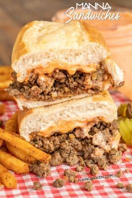 manna sandwiches