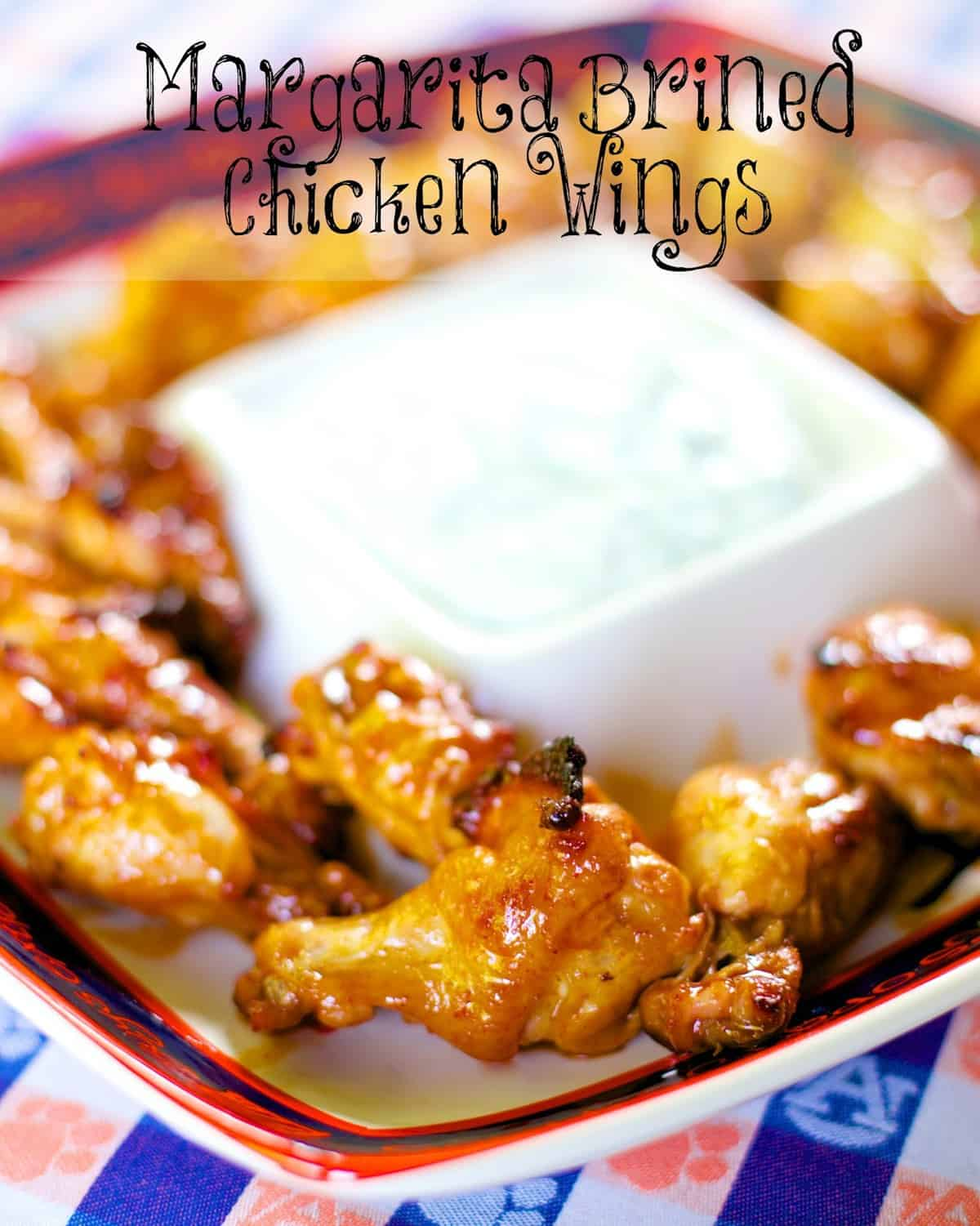 margarita brined chicken wings