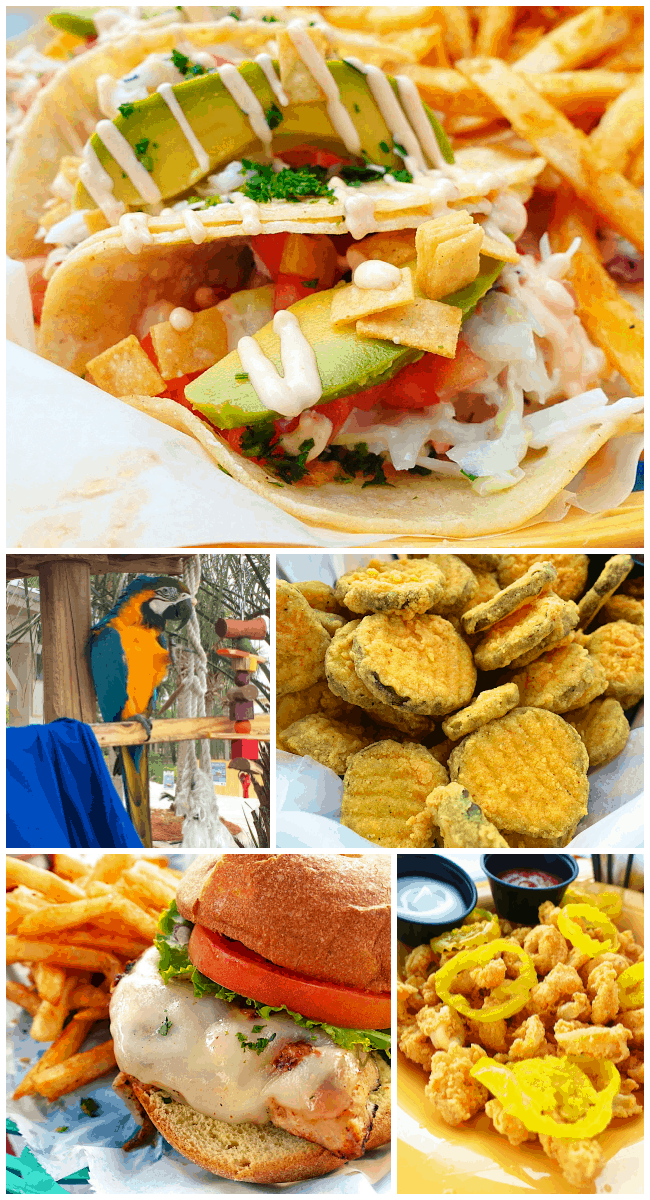 Marina Bar & Grill - great food on the bay side at the Sandestin Golf & Beach Resort