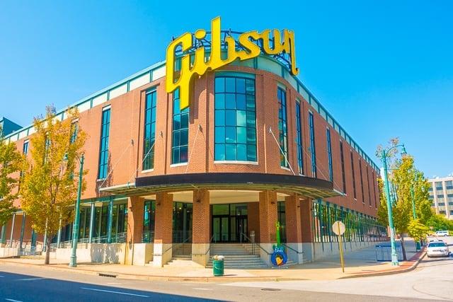 Gibson Guitar Factory - Memphis, TN