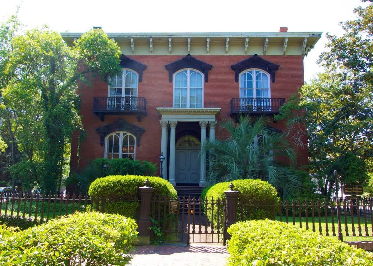 The Mercer Williams House in Savannah Georgia