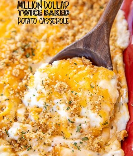 Million Dollar Twice Baked Potato Casserole Plain Chicken