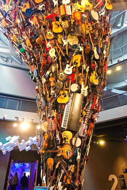 EMP Museum in Seattle, WA