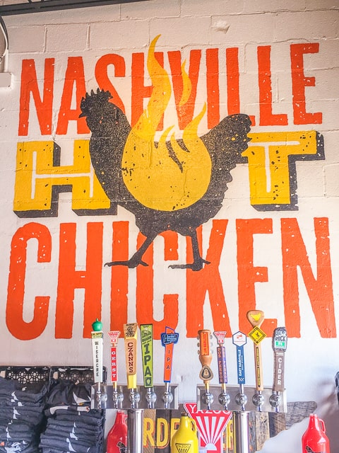 Pepperfire Hot Chicken in East Nashville, TN
