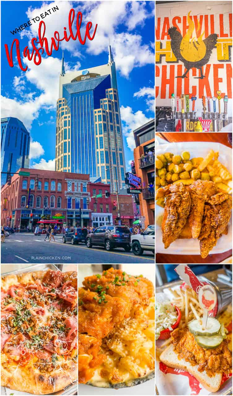 Nashville, Tennessee - hot chicken and pizza! Three places you MUST try on your next trip to Music City!! Party Fowl Hot Chicken, Pepperfire Hot Chicken and The Stillery. Some of the top rated restaurants in the city. Nothing fancy, just good food!