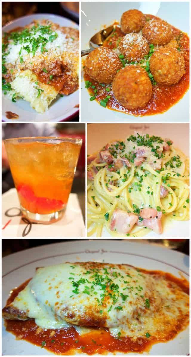 Original Joe's in San Francisco, CA - our favorite place! The food is AMAZING! Come hungry - the portions are huge! One of the best Italian restaurants we ever eaten in.