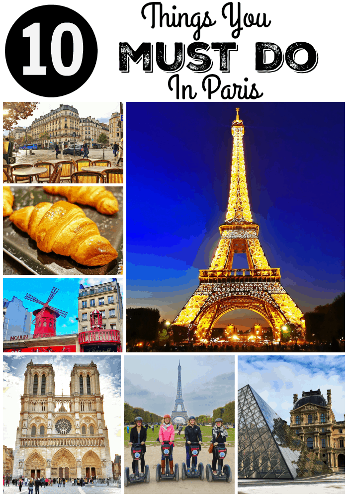10 Things You MUST DO in Paris - cooking classes, shopping, walking tours, skip the line at the Eiffel Tower and the Louvre! Don't miss this!