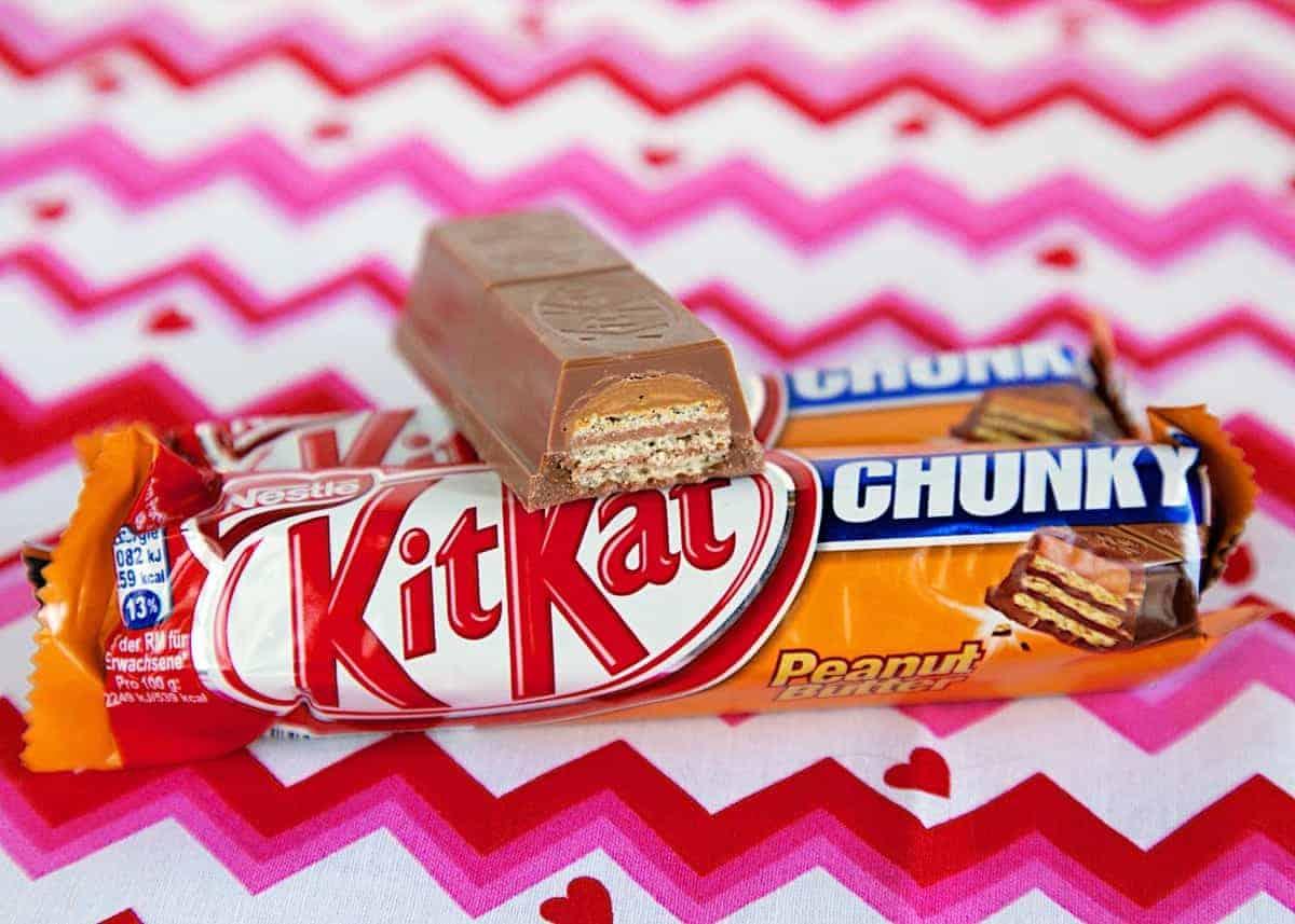 Peanut Butter Kit Kats - European candy