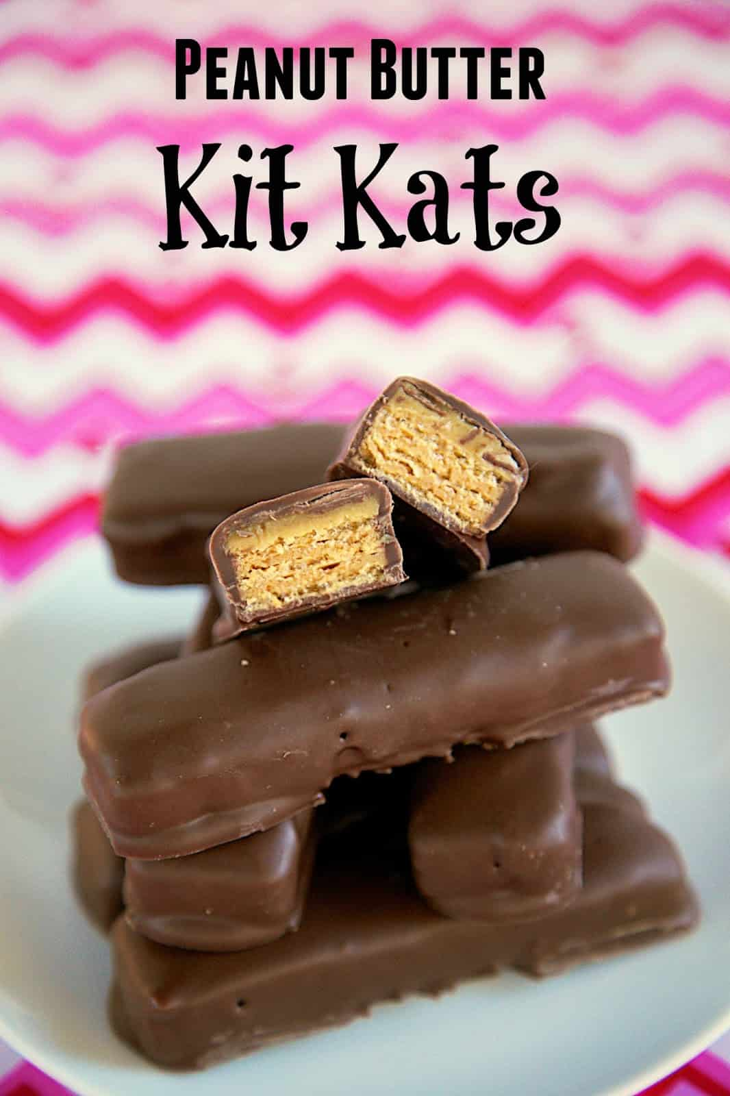 Peanut Butter Kit Kats - only 3 ingredients!