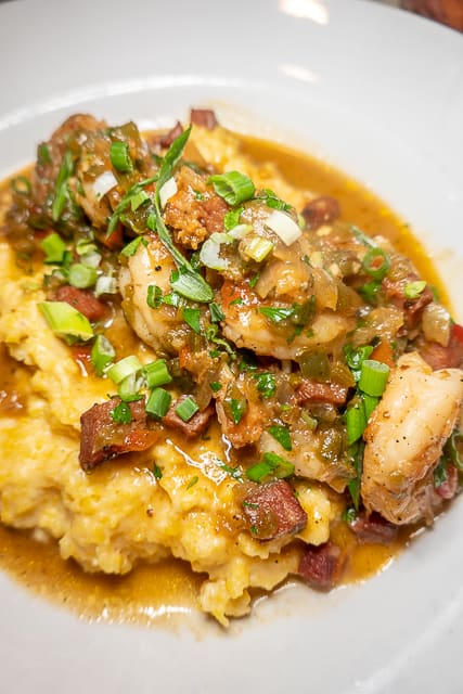 Shrimp and Grits from Playa - Gulf Shores/Orange Beach, AL