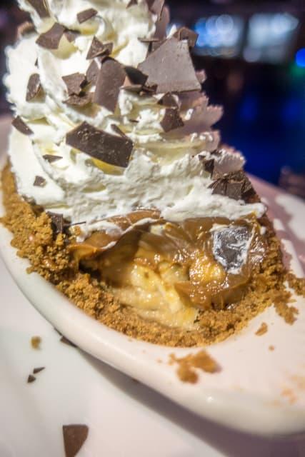 Banoffee Pie at Nona Blue - Ponte Vedra, FL