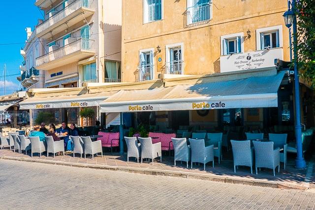 Porto Cafe in Poros Greece