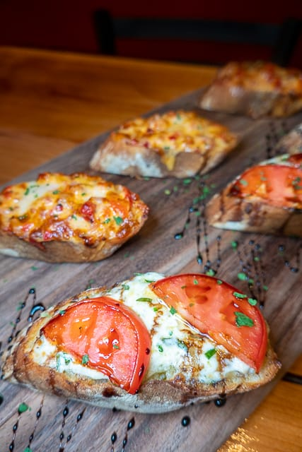 Bruschetta from Red or White - Gulf Shores/Orange Beach, AL
