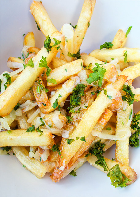 Asiago Truffle Fries - RE:GRUB - Calgary, AB Canada