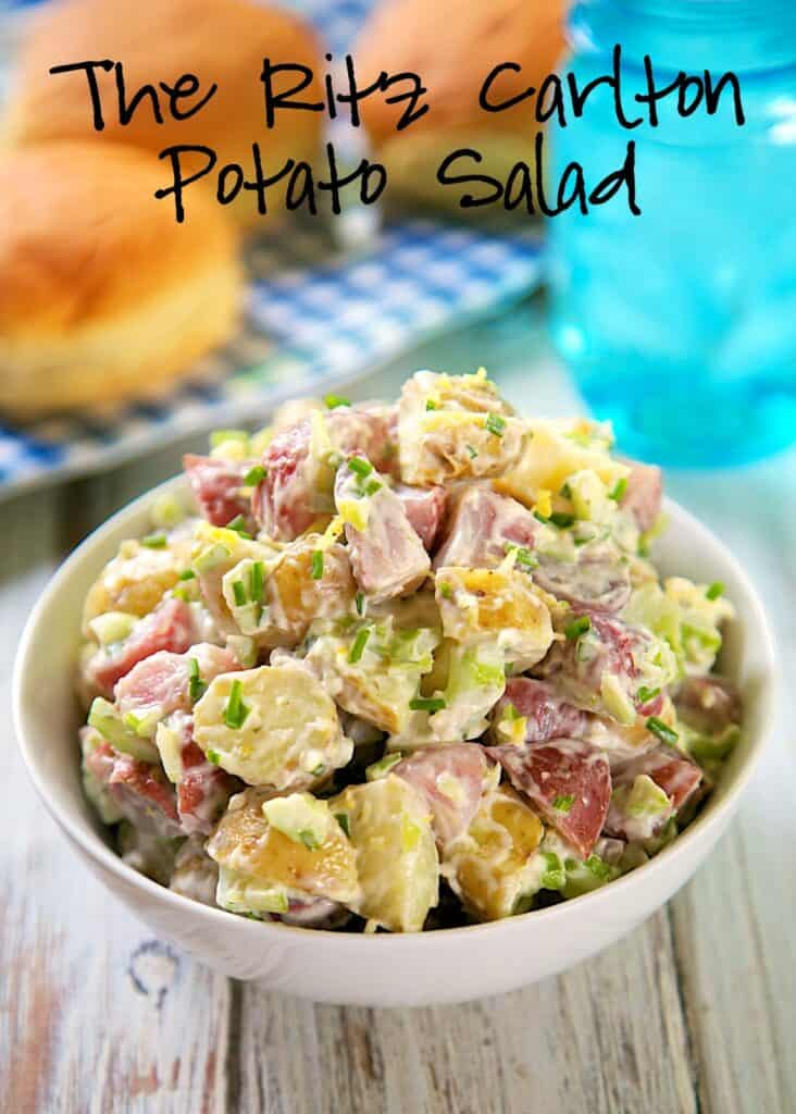 ritz carlton potato salad