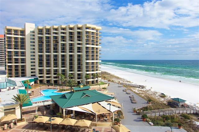 The view from the Hilton Sandestin Spa Tower Room