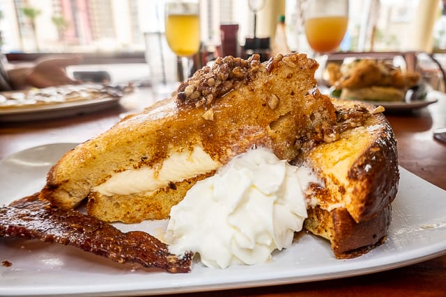 Pecan Stuffed French Toast from The Ruby Slipper - Gulf Shores/Orange Beach, AL