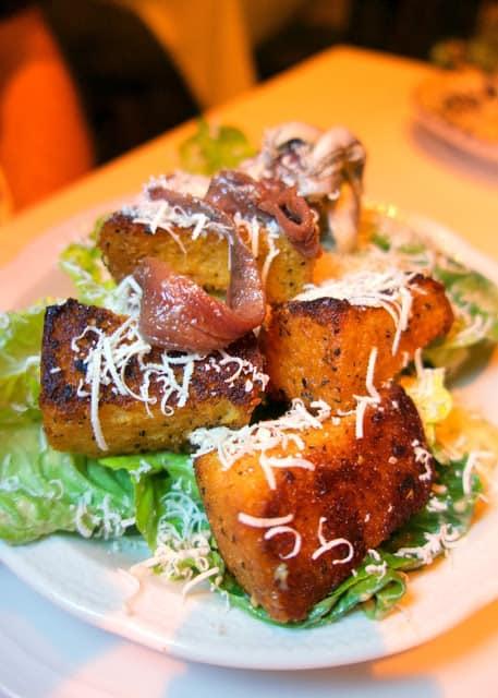 Caesar Salad at Carbone Las Vegas