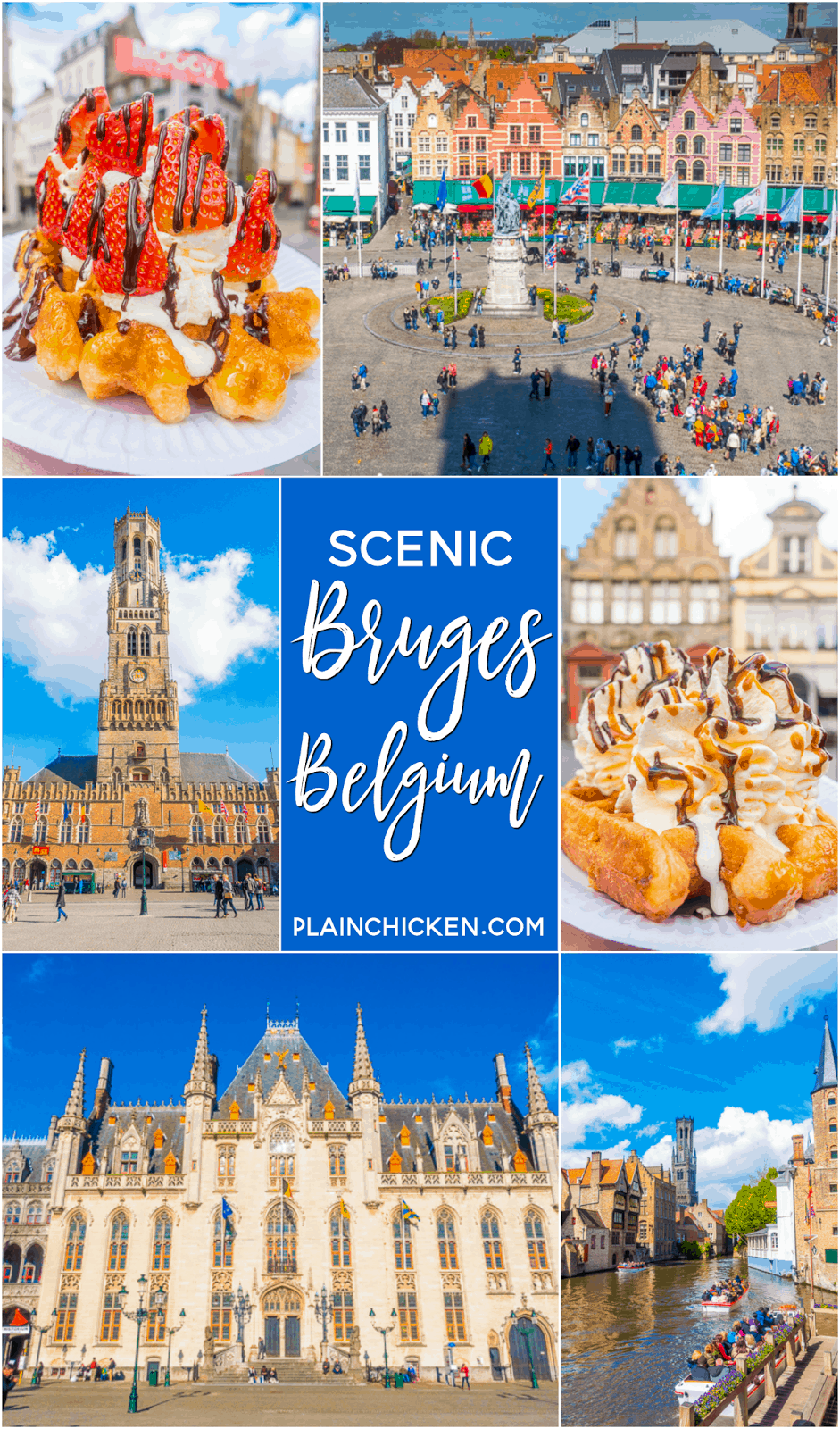 Scenic Bruges, Belgium - these top things to do in Bruges will help you to spend the perfect day in one of Europe's most beautiful cities.